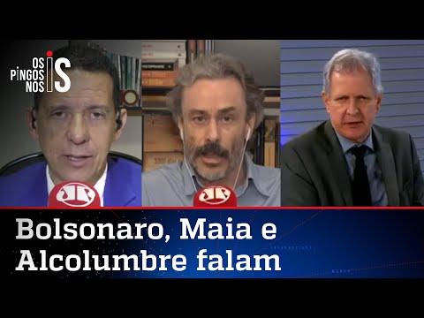 Comentaristas analisam pronunciamento de Bolsonaro