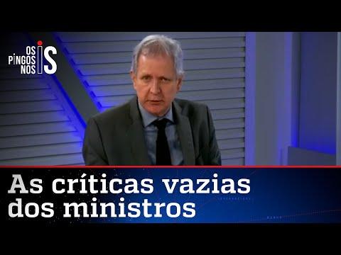 Augusto Nunes: STF se mete no que não entende