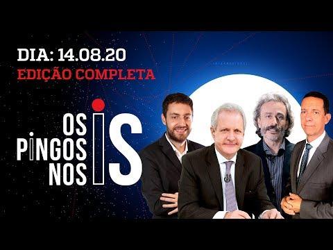 Os Pingos Nos Is – 14/08/2020 – BOLSONARO EM ALTA NO DATAFOLHA / ROGÉRIO MARINHO / O GOLPE DE GILMAR