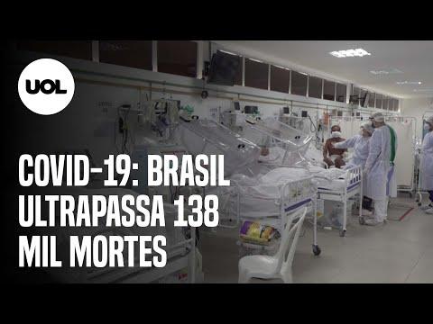 Brasil registra 836 novos óbitos por covid-19 nas últimas 24h