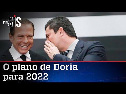 Doria sonha com Moro como vice-presidente