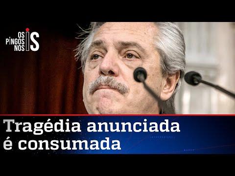Popularidade de Fernández e economia da Argentina derretem
