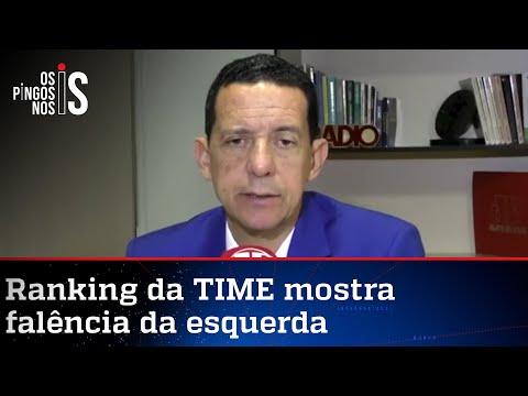 José Maria Trindade: Revista TIME apresenta Bolsonaro de forma injusta