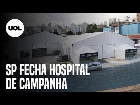 Doria anuncia fechamento do hospital de campanha do Ibirapuera
