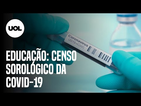 Covas anuncia censo sorológico da covid-19 para testar imunidade na área da educação
